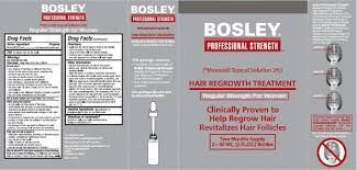 bosley professional strength hair regrowth treatment regular