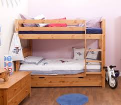varnished wooden bunk bed with two drawers built ladder using most visited images the awesome minimalist bunk bed beautify your bedroom