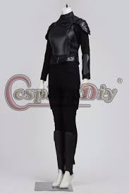 Katniss Everdeen Costume Cosplaydiy Custom Made The Hunger Games Katniss Everdeen Costume