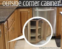 Kitchen Corner Base Cabinets Picture Of An Outside Corner Kitchen Cabinet Wrapping Kitchen