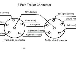 6 pole trailer wiring diagram 7 trailer wiring diagram 4 wire