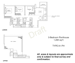 Penthouse Layouts Twin Waterfalls Floor Plans Site Plans