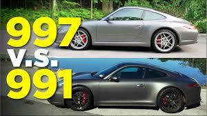 Porsche 911 Bike Rack - porsche 911 the 991 vs 997 youtube