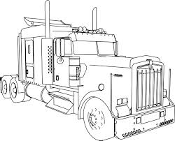 build your own kenworth truck kenworth w900 l long trailer truck coloring page wecoloringpage