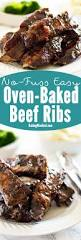 no fuss easy oven baked beef ribs