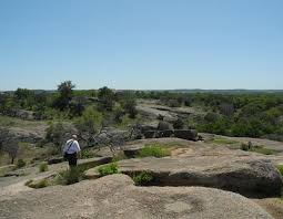the view is grand enchanted rock in the texas hills gardenista