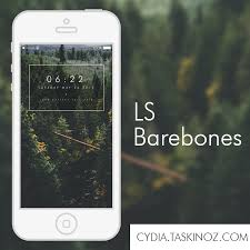 theme ls ls barebones a lockscreen widget for ios by taskinoz on deviantart