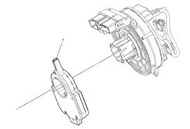 repair instructions steering angle sensor replacement 2009