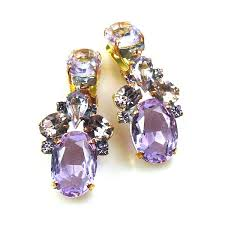 dramatic earrings dramatic earrings violet lilien authentic