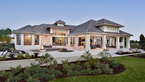 one story home designs exterior landscape one story home building plans 82669