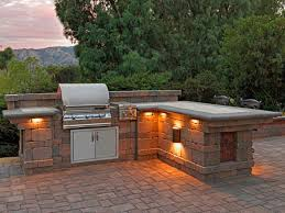 Patio Barbecue Designs Masonry Outdoor Bbq Island Cabinets Furniture Kitchen Grill