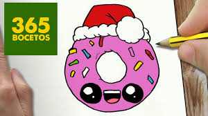 imagen para navidad chida imagen chida para navidad imagen chida feliz como dibujar un donut para navidad paso a paso dibujos kawaii