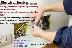 electrical and wiring service services available in bandar utama