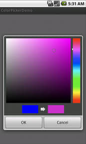 android color picker android color picker application using ambilwarna color picker