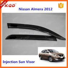 nissan almera tail light accessories for almera car window visor for almera 2012 injection
