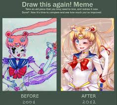 Draw It Again Meme - draw this again meme sailormoon by next lvl on deviantart