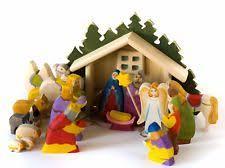 wooden nativity set wooden nativity set of figurines ebay