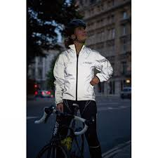 reflective waterproof cycling jacket proviz switch women u0027s waterproof reflective reversible jacket