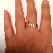wedding ring names name ring gold ring name initial ring custom ring