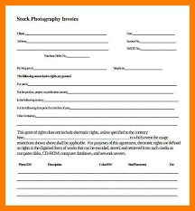 5 photography receipt template teller resume