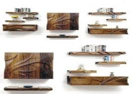 Wall Mounted Wooden Shelves by Natural Wood Wall Shelf Foter