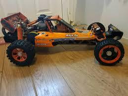 baja buggy rc car hpi baja trevor simpson ported engine tr hostile uber rc 1 5