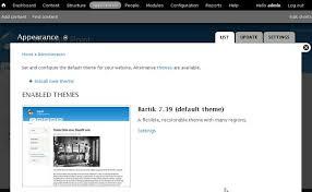 theme drupal menu block drupal menu management