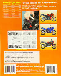 honda cbr125r 2004 2010 haynes service and repair manuals