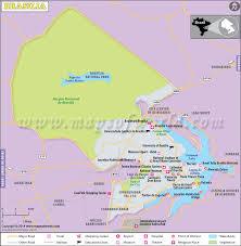 map of brasilia brasilia map capital of brazil