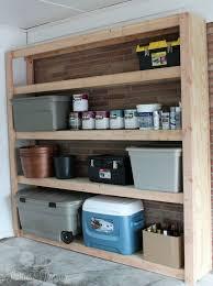 garage shelving units shelves ideas