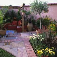 Mediterranean Gardens Ideas Mediterranean Style Courtyard Garden Design Decorating Ideas