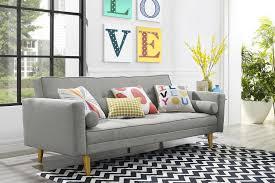 Stylish Sleeper Sofa Stylish Mid Century Modern Sleeper Sofa All Modern Home Designs