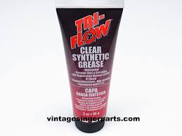 tri flow clear synthetic grease with teflon 3 oz tube gears