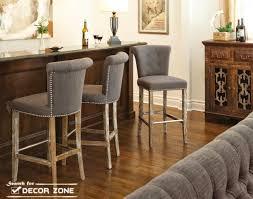 upholstered kitchen bar stools kitchen trendy photo of at ideas 2016 upholstered kitchen bar