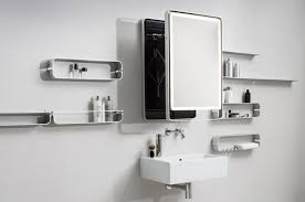Extendable Mirror Bathroom Wall Mounted Extendable Mirror By Miior
