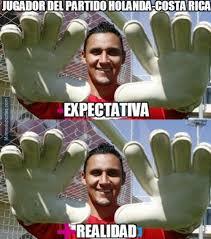 Costa Rica Meme - los memes del partido de holanda vs costa rica