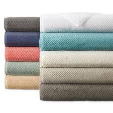 Luxurious Grey Seafoam Jacquard Waffle Bath Towels U0026 Hand Towels Jcpenney