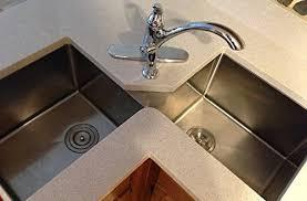 double sinks for kitchens undermount corner kitchen sink kitchen sustainablepals