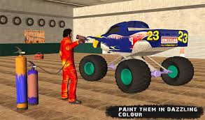 monster truck mechanic garage android apps on google play