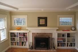 Fireplace With Built In Cabinets Built In Bookshelves Add A Quality Touch To Custom Homes