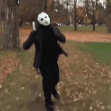 Jason Halloween Costume Jason Voorhees Costume Halloween Animated Gif Speakgif