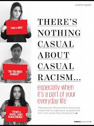 cosmopolitan article there u0027s nothing casual about casual racism