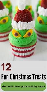 christmas treats 12 fun christmas treats that will cheer your holiday table