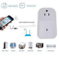 remote control home wifi smart power socket wireless timer switch