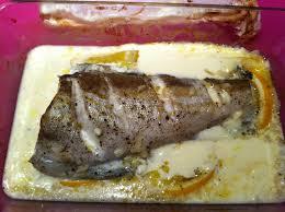 cuisiner le lieu jaune poisson à la crème cuit au four lieu jaune hélène