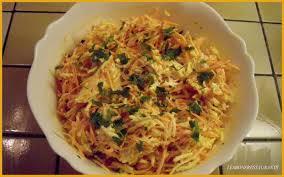 cuisiner des panais recette salade de carottes et de panais recette salade de