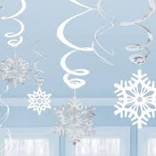 snowflake decorations 25 best snowflake party ideas on snowflake theme