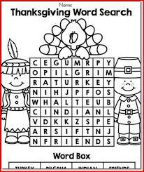 thanksgiving language arts activities for preschoolers