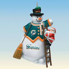 miami dolphins ornaments decore