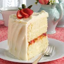 vanilla bean cake with white chocolate ganache recipe taste of home